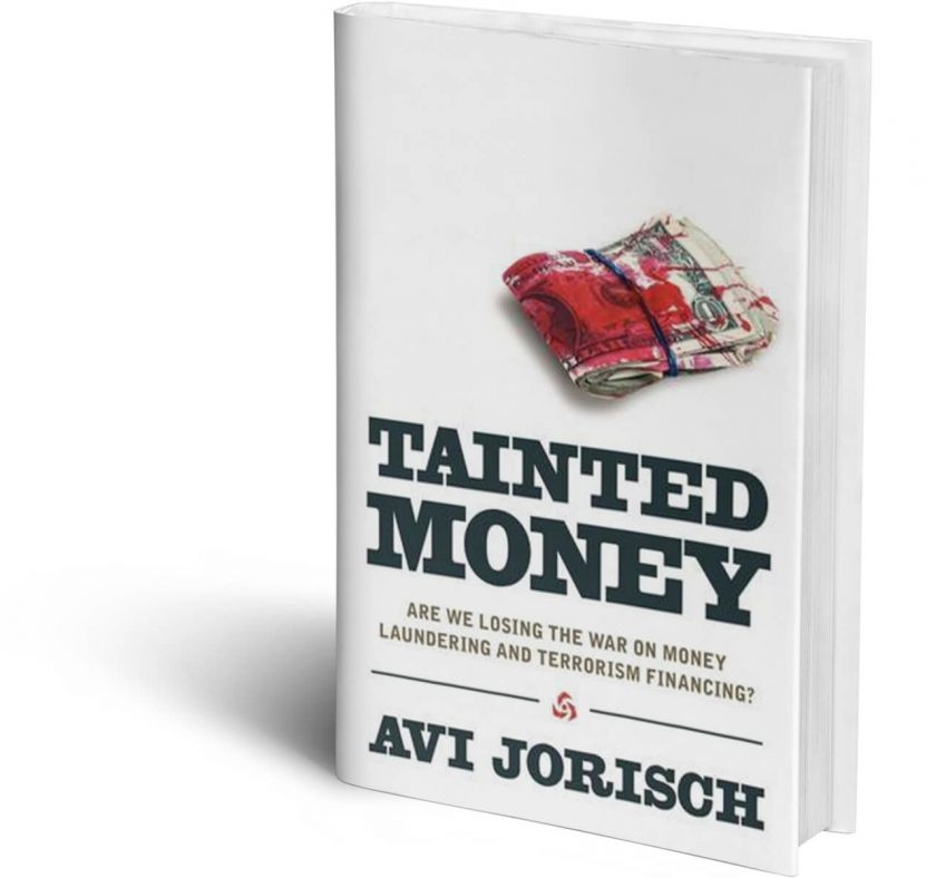 3D Book Cover: Tainted Money