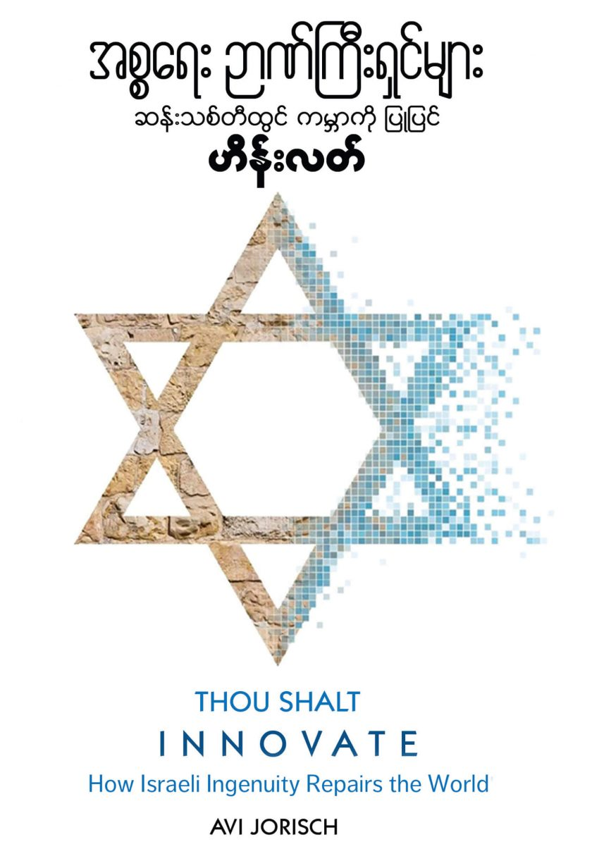 Book Cover: Thou Shalt Innovate - Burmese