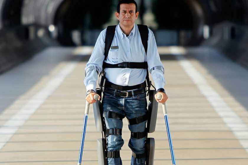 Innovator Highlight: Exoskeleton Walking Device