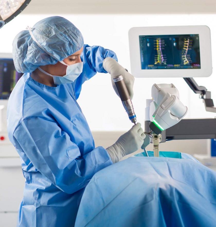 Innovator Highlight: Robotic Back Surgery
