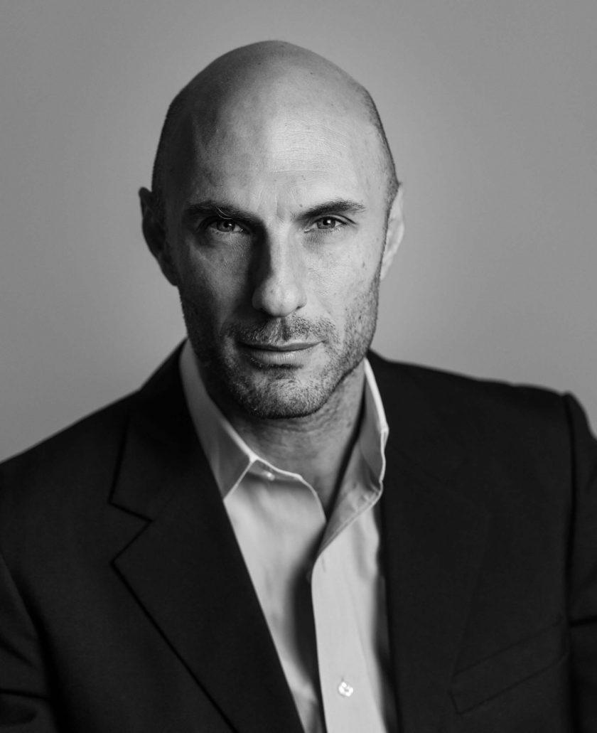 B&W Photo of Avi Jorisch in Dark Jacket by Elysees Eye